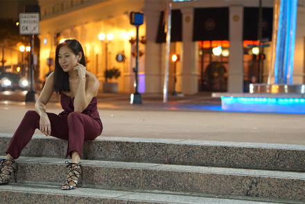 Miki à la Mode - Style & Travel Blog  Jumpsuit & heels worn in Orlando on http://mikialamode.com Follow on Bloglovin at https://www.bloglovin.com/blogs/mikialamode-14478629  #fashionblog #styleblog #lifestyle #ootd