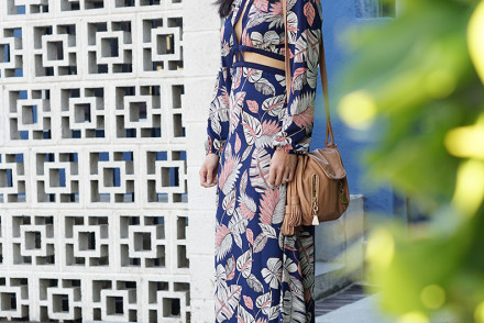 Beautiful Maxi Summer Dress with Cutouts