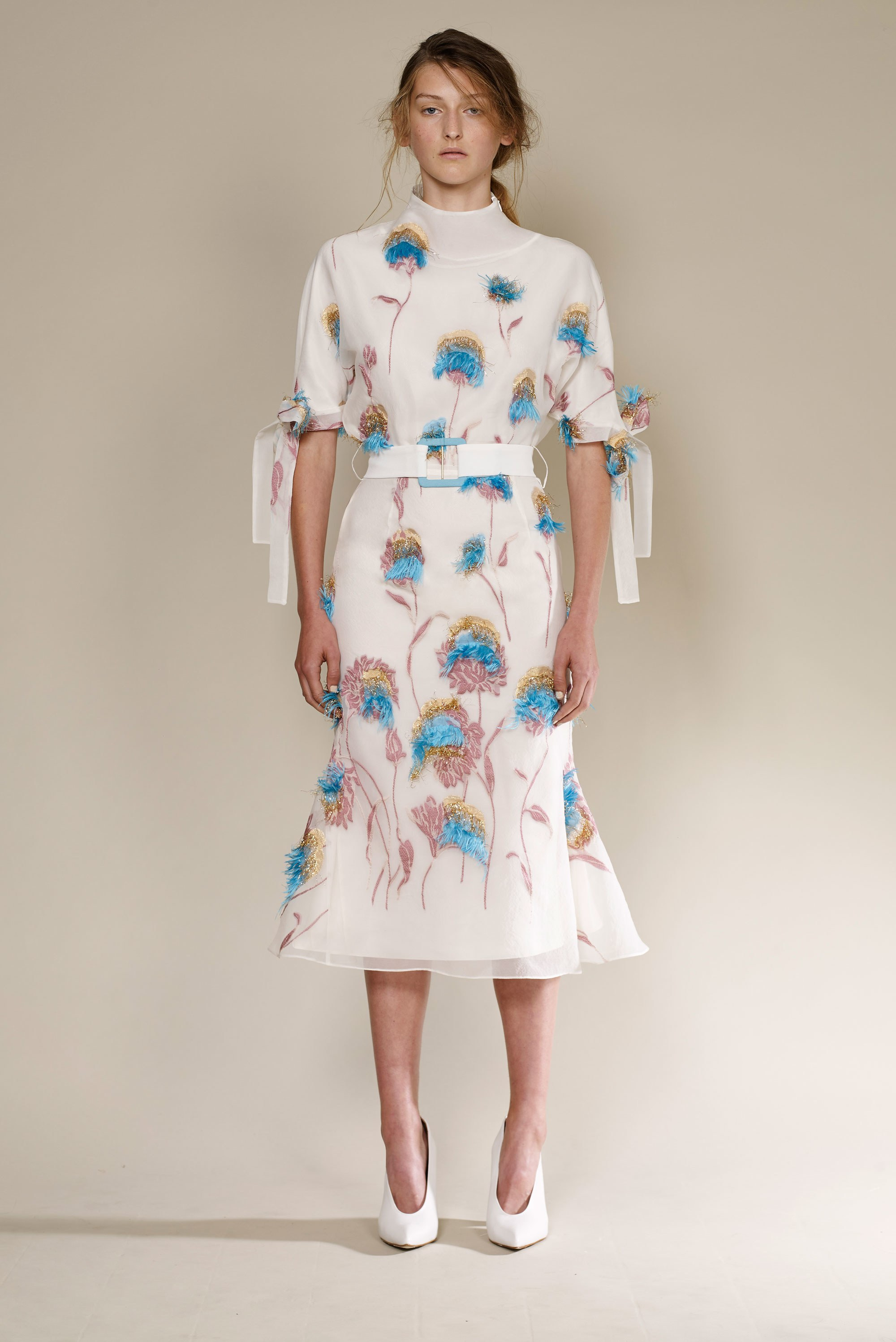 Edeline_Lee_London_Fashion_Week_SS18_Look_7_Spring_Summer_Runway_LFW_SS18_Embroidered_Dress